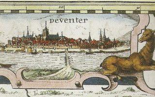 Deventer als hoofdstad van Overijssel